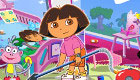 Cleaning with Dora the Explorer