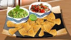 Mexican Nachos and Dips
