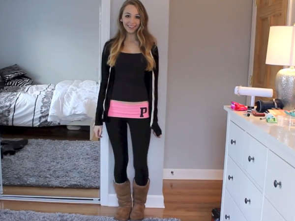 this girl knows how to wear leggings video fashion tips blog my games 4 girls. Black Bedroom Furniture Sets. Home Design Ideas