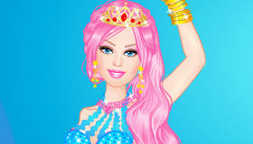 Barbie Mermaid Dress Up