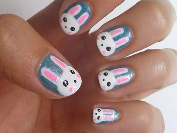 Cute Animal Nail Art The Most Pretty Mani Weve Ever Seen Video