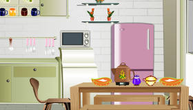 Kitchen cooking game
