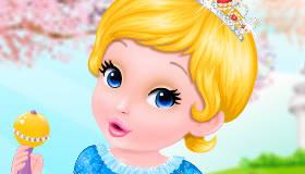Baby Cinderella's Bath