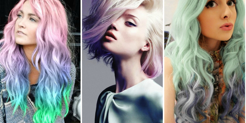 Pastel Hair Colours Are The Trend For This Summer But What If You Don T Want A Permanent Dye Lee S Got Advice And Tips Chalking