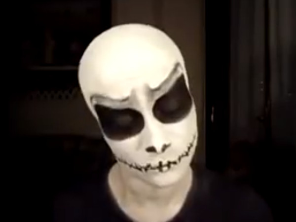 Halloween Jack Skellington Scary.Scary Halloween Makeup Jack Skeleton Hair Beauty Tips Blog