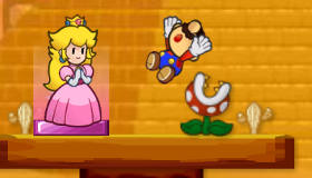 Kissing Game with Mario and Peach