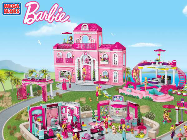 Mega Bloks Barbie - Entertainment Blog - My Games 4 Girls