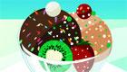 Decorate beautiful ice creams!