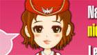 The air hostess!