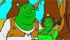 Colouring Game of Shrek 2