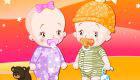 Dress Up Baby Twins
