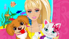 Animal Care with Barbie