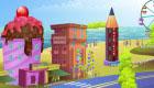 Theme Park Decorating Game