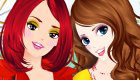 Sisters Dress Up Game
