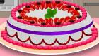 Baking Strawberry Cake