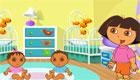 Dora Babysitting Challenge