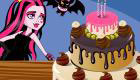 Cake Baking at Monster High