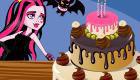 Cake Baking at Monster High