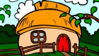 Little House Coloring