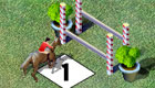 Horse riding girls game