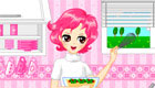 Girls kitchen decoration game