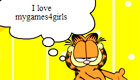 design a Garfield comic