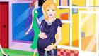Pregnant girl dress up
