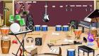 Messy Music Room