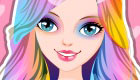 Rainbow Make Up Game