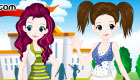 Twins dress up game