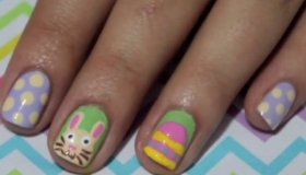 Easter Spring Nails Manicure