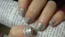Newspaper Nails - A Simple Guide