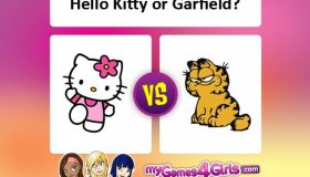 Which cat is better - Hello Kitty or Garfield?