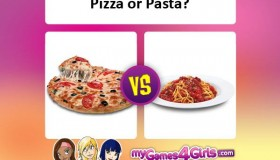 What to eat, pizza or pasta?