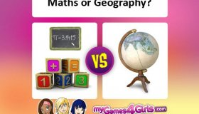 Which do you like...math or geography?