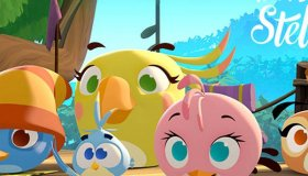 There's an all new animated Angry Birds series!