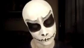 Scary Halloween Makeup - Jack Skeleton