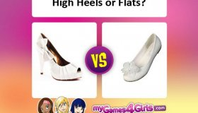 What To Wear...heels or flats?