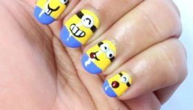 Despicable Me Nails - How To
