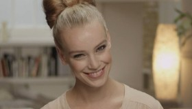 Hair Bow: how to create this simple style