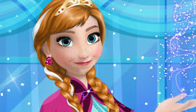 Frozen Anna's Princess Gowns