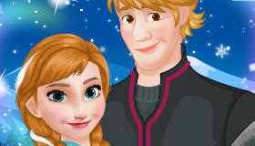 Dress Up Anna and Kristoff