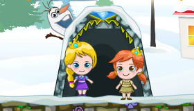Anna and Elsa Candy Adventure