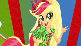 Applejack Rainbooms Equestria Girls