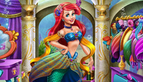 Ariel Closet Dress up for Girls