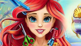 Princess Ariel Real Haircuts