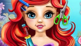 Baby Ariel Real Haircuts