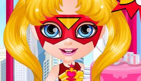 Baby Barbie Superhero Style