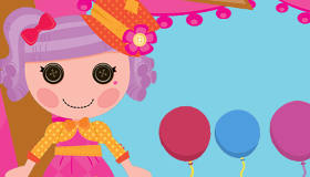Lalaloopsy Balloon Pop