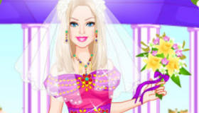 Colorful Bride Barbie Mobile